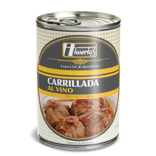 CARRILLADA CERDO VINO HUERTAS 380GR