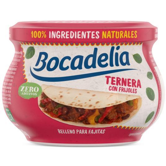 RELLENO SANDWICH TERNERA FAJITAS BOCADELIA LA PIARA 180G