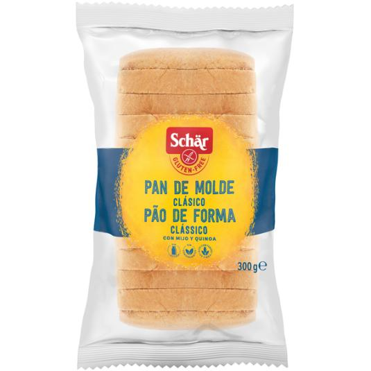 PAN DE MOLDE S/GLUTEN SCHÄR 300G