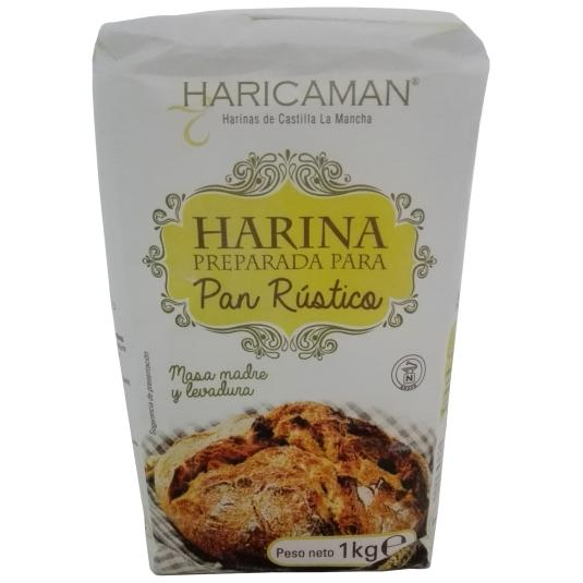 HARINA PAN RUSTICO HARICAMAN 1KG