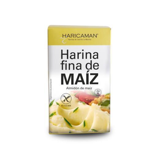 HARINA FINA DE MAIZ BOLSA HARICAMAN 400G
