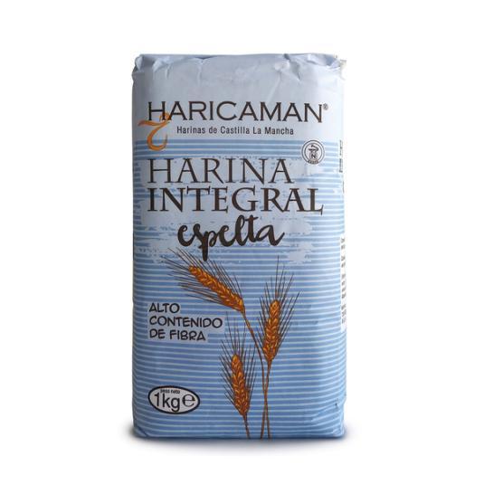 HARINA ESPELTA INTEGRAL HARICAMAN 1KG