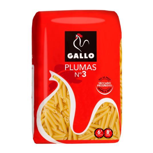 MACARRÓN PLUMA Nº 3 GALLO 450G