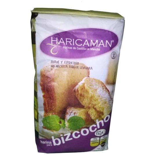 HARINA BIZCOCHOS HARICAMAN 1K