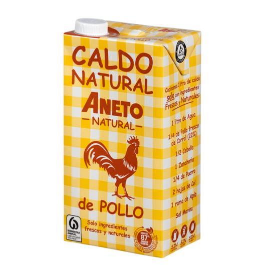 CALDO POLLO ANETO 1L