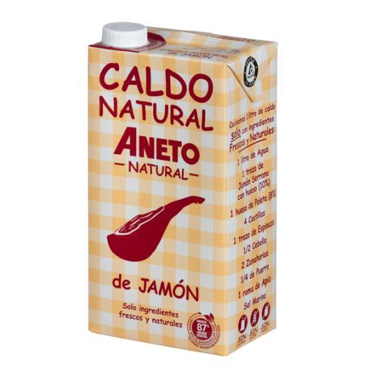 CALDO JAMÓN ANETO 1L