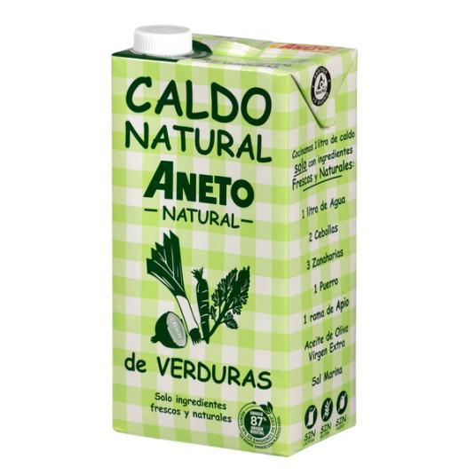CALDO VERDURAS ANETO 1L