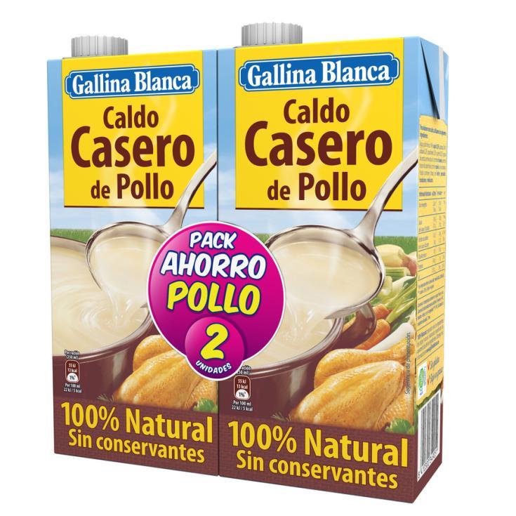 CALDO POLLO  GALLINA BLANCA P2 1L