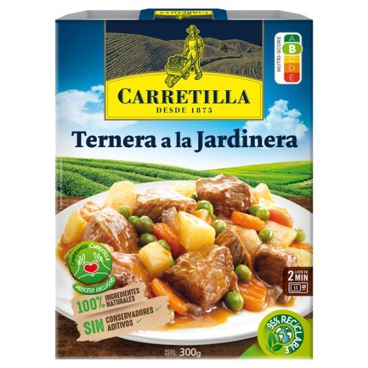 TERNERA JARDINERA CARRETILLA 275G