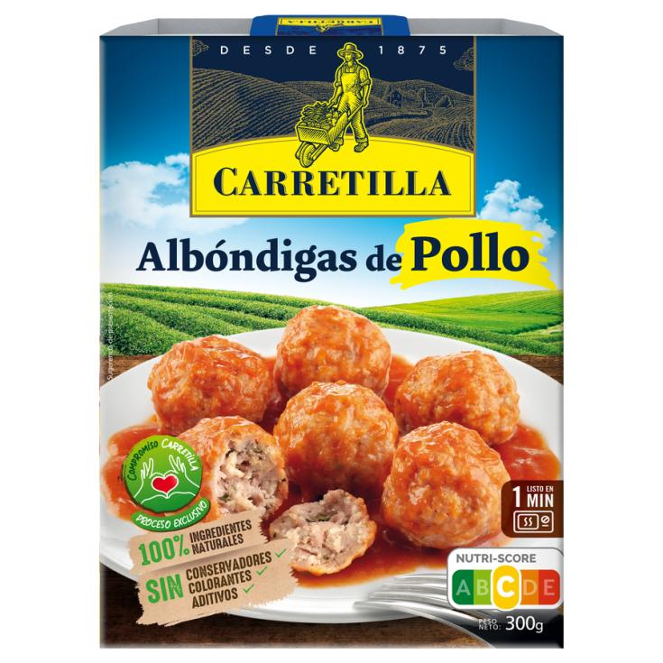 ALBONDIGA POLLO CARRETILLA 300G