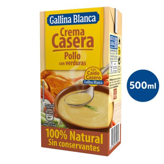 CREMA VERDURA POLLO/VERDURA GALLINA BLANCA 500ML