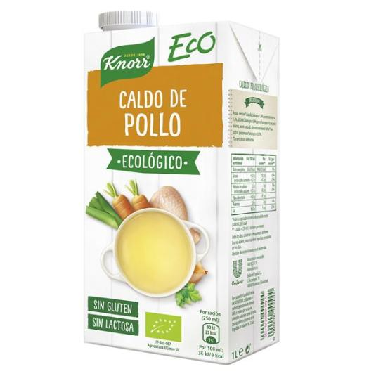 CALDO POLLO ECO KNORR 1L