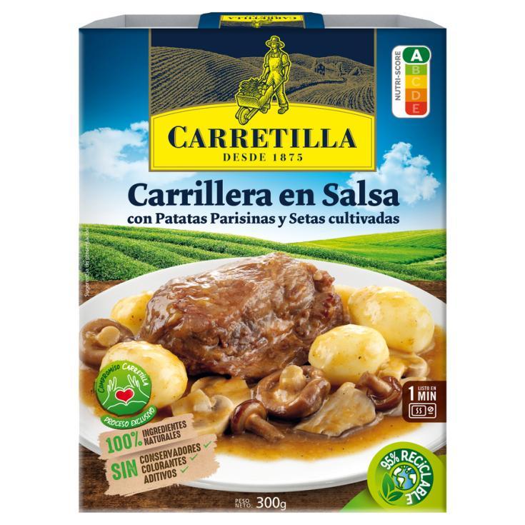 PLATO PREPARADO CARRILLERA EN SALSA CARRETILLA 300G