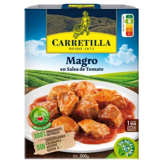 MAGRO EN SALSA DE TOMATE CARRETILLA 300G