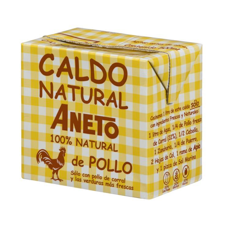 CALDO NATURAL POLLO ANETO 500ML