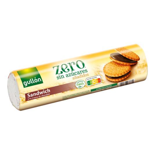 GALLETA SANDWICH RELLENA CHOCOLATE DIET NATURE GULLÓN 250G