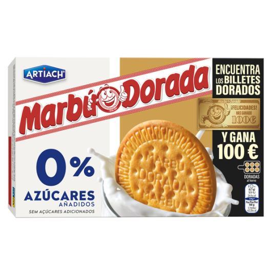 GALLETA MARÍA 0% AZÚCARES MARBU ARTIACH 400G