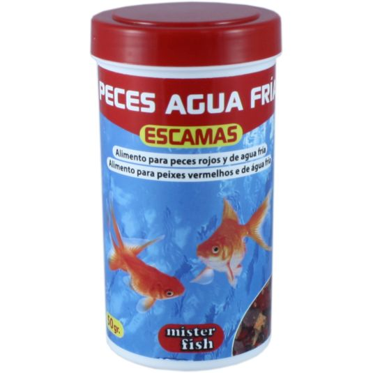 ALIMENTO PECES AGUA FRIA MISTER FISH 50G