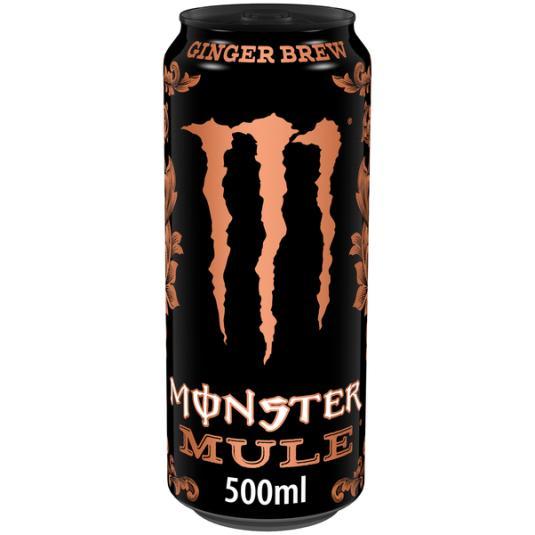 BEBIDA ENERGETICA MONSTER MULE MONSTER 500 ML