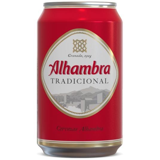 CERVEZA TRADICIONAL LATA ALHAMBRA 330ML
