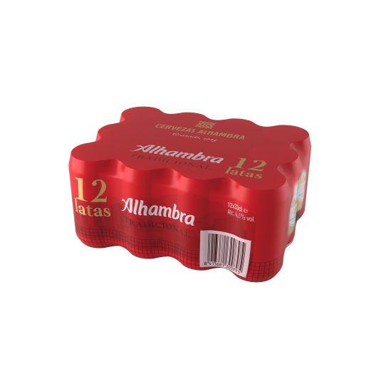 CERVEZA TRADICIONAL ALHAMBRA P12 330ML/U