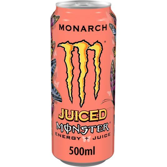 BEBIDA ENERGETICA MONARCH MONSTER 500ML