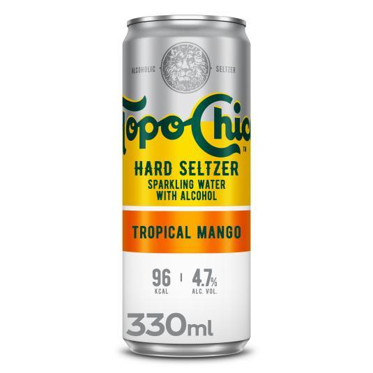 COMBINADO C/ALCOHOL TROPIC MANGO TOPO CHICO 330ML