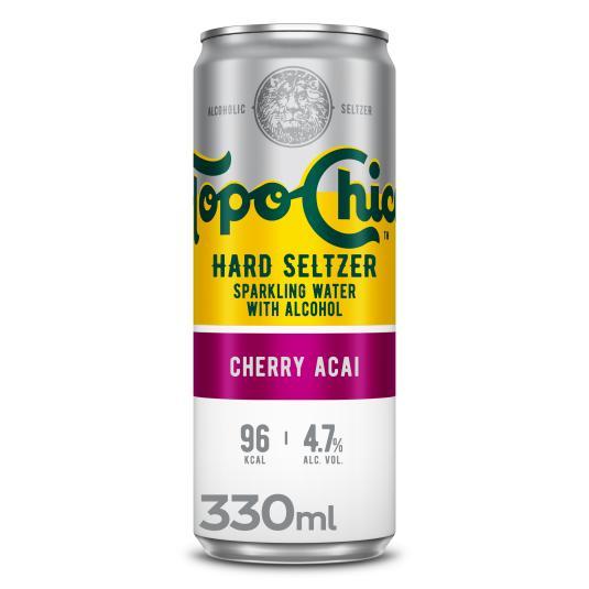 COMBINADO C/ALCOHOL CHERRY ACAI TOPO CHICO 330ML