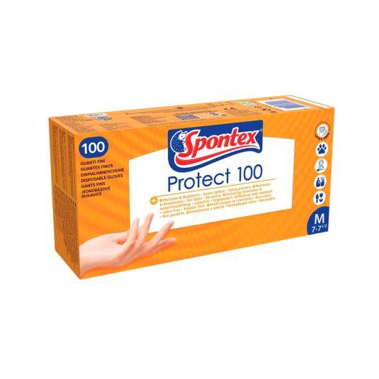 GUANTES PROTECT TALLA 7 SPONTEX P100