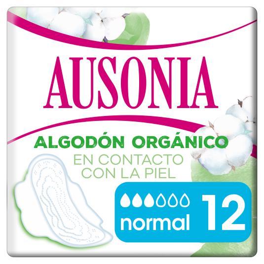 COMPRESA C/ALA NATURAL NORMAL AUSONIA P12