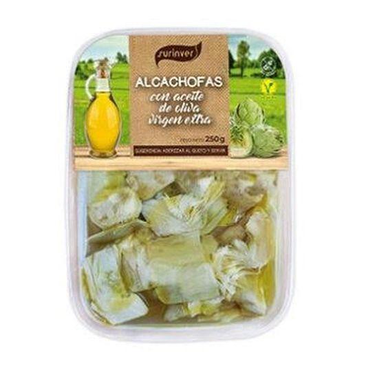 ALCACHOFA ACEITE DE OLIVA SURINVER 250GR