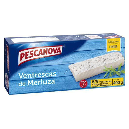 VENTRESCA MERLUZA PESCANOVA 400G