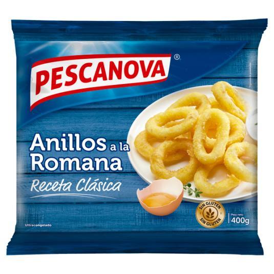 ANILLOS ROMANA S/GLUTEN PESCANOVA 400G