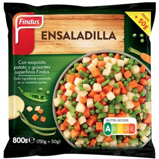 ENSALADILLA FINDUS 800G