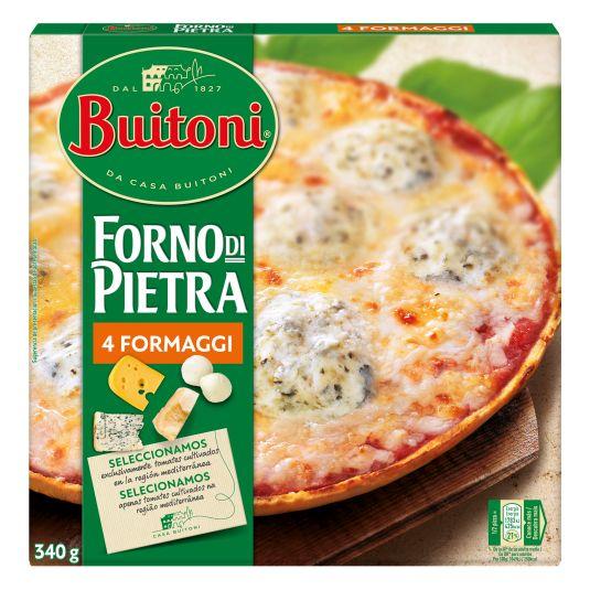 PIZZA 4 FORMAGI HORNO DE PIEDRA BUITONI 350G