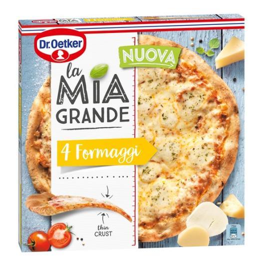 PIZZA 4 FORMAGGI LA MIA GRANDE 400G