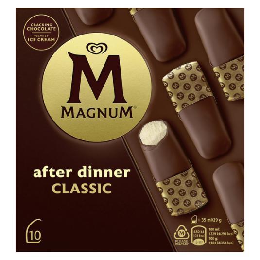 HELADO AFTER DINNER CLASICO MAGNUM P10