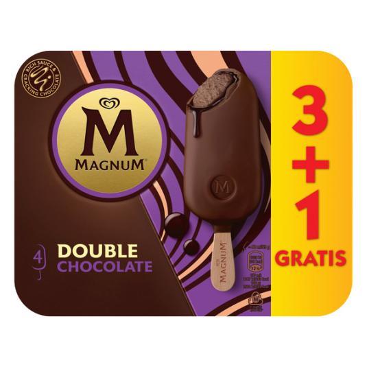 HELADO BOMBON DOUBLE CHOCOLATE MAGNUM 3U