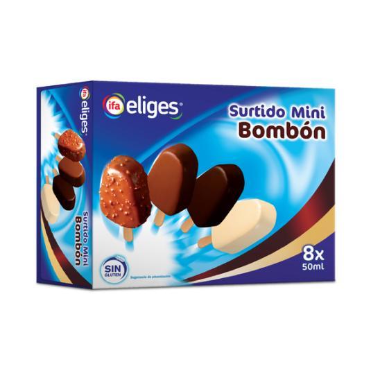 MINI BOMBON SURTIDO IFA ELIGES P8 50ML/U