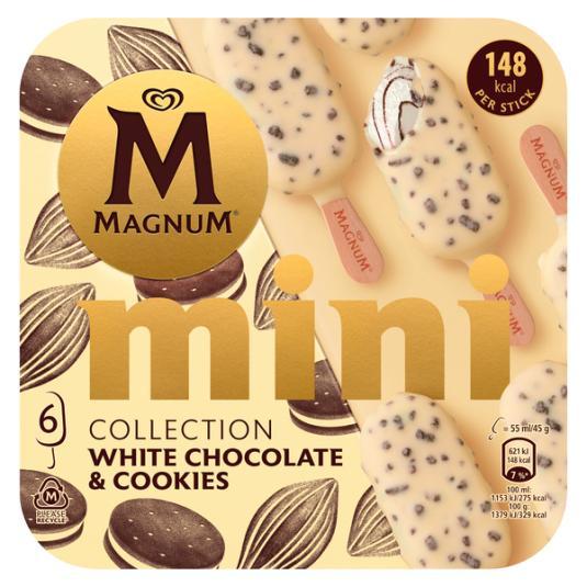 MINI BOMBON WHITE CHOCOLATE COOKIES MAGNUM P6